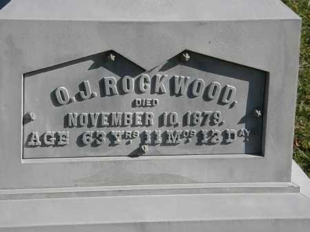 ROCKWOOD, O. J. - Lorain County, Ohio | O. J. ROCKWOOD - Ohio Gravestone Photos