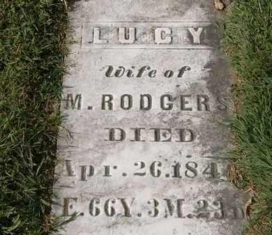 RODGERS, LUCY - Lorain County, Ohio | LUCY RODGERS - Ohio Gravestone Photos