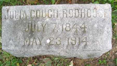 RODHOUSE, JULIA - Lorain County, Ohio | JULIA RODHOUSE - Ohio Gravestone Photos