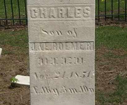 ROEMER, E. - Lorain County, Ohio   E. ROEMER - Ohio Gravestone Photos