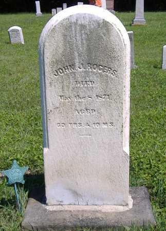 ROGERS, JOHN J. - Lorain County, Ohio | JOHN J. ROGERS - Ohio Gravestone Photos