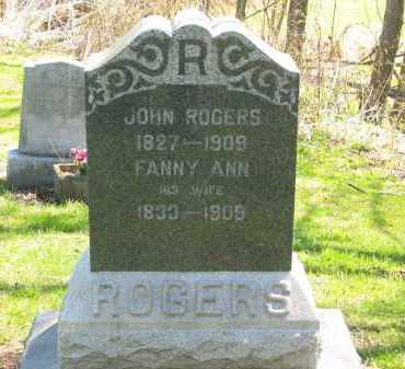 ROGERS, JOHN - Lorain County, Ohio | JOHN ROGERS - Ohio Gravestone Photos