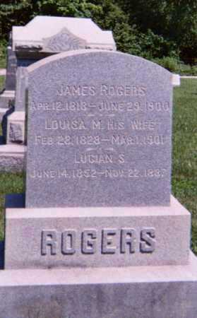 ROGERS, JAMES - Lorain County, Ohio | JAMES ROGERS - Ohio Gravestone Photos