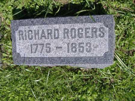 ROGERS, RICHARD - Lorain County, Ohio   RICHARD ROGERS - Ohio Gravestone Photos