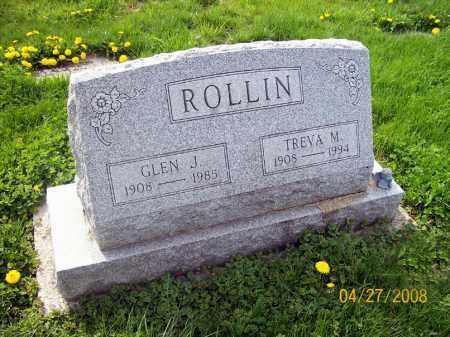 JACKSON ROLLIN, TREVA M. - Lorain County, Ohio | TREVA M. JACKSON ROLLIN - Ohio Gravestone Photos
