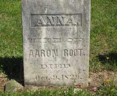 ROOT, ANNA - Lorain County, Ohio | ANNA ROOT - Ohio Gravestone Photos