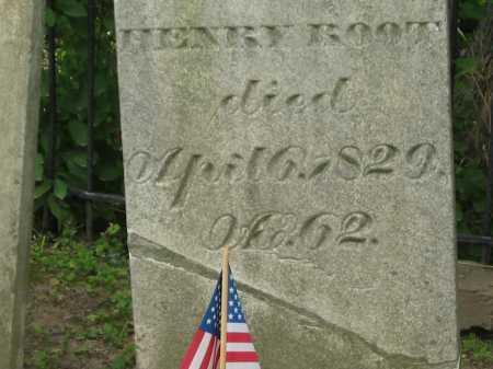 ROOT, HENRY - Lorain County, Ohio | HENRY ROOT - Ohio Gravestone Photos