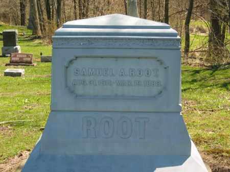 ROOT, SAMUEL A. - Lorain County, Ohio | SAMUEL A. ROOT - Ohio Gravestone Photos