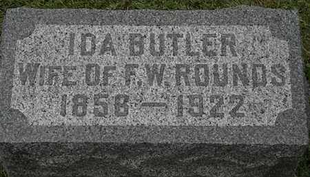 BUTLER ROUNDS, IDA - Lorain County, Ohio | IDA BUTLER ROUNDS - Ohio Gravestone Photos