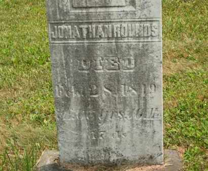ROUNDS, JONATHAN - Lorain County, Ohio | JONATHAN ROUNDS - Ohio Gravestone Photos