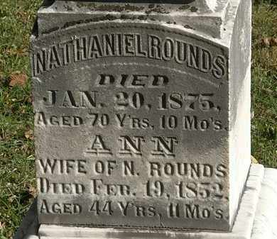 ROUNDS, NATHANIEL - Lorain County, Ohio | NATHANIEL ROUNDS - Ohio Gravestone Photos