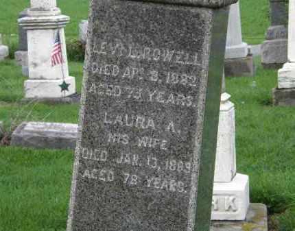 ROWELL, LAURA A. - Lorain County, Ohio | LAURA A. ROWELL - Ohio Gravestone Photos