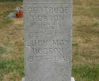 ROBSON, LUCY MAY - Lorain County, Ohio | LUCY MAY ROBSON - Ohio Gravestone Photos