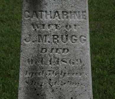 RUGG, J.M. - Lorain County, Ohio | J.M. RUGG - Ohio Gravestone Photos