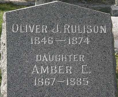 RULISON, AMBER E. - Lorain County, Ohio | AMBER E. RULISON - Ohio Gravestone Photos