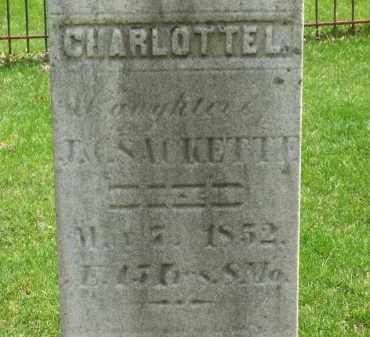 SACKETTE, J. - Lorain County, Ohio | J. SACKETTE - Ohio Gravestone Photos