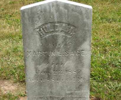 SAGE, HULDA - Lorain County, Ohio   HULDA SAGE - Ohio Gravestone Photos