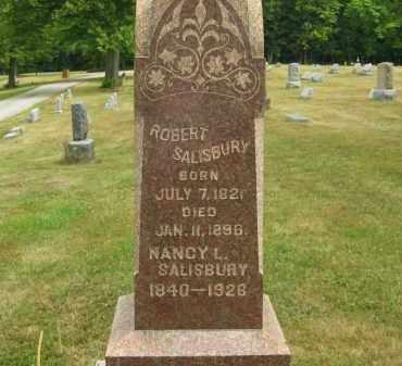 SALISBURY, NANCY L. - Lorain County, Ohio | NANCY L. SALISBURY - Ohio Gravestone Photos