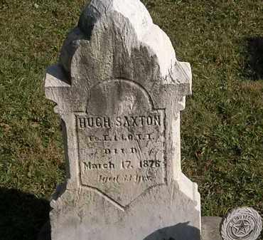 SAXTON, HUGH - Lorain County, Ohio   HUGH SAXTON - Ohio Gravestone Photos