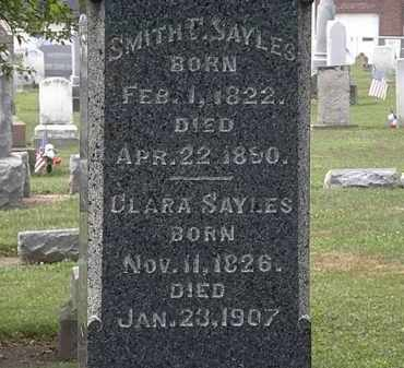 SAYLES, SMITH - Lorain County, Ohio | SMITH SAYLES - Ohio Gravestone Photos