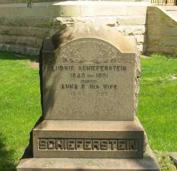 SCHIEFERSTEIN, ANNA B. - Lorain County, Ohio | ANNA B. SCHIEFERSTEIN - Ohio Gravestone Photos