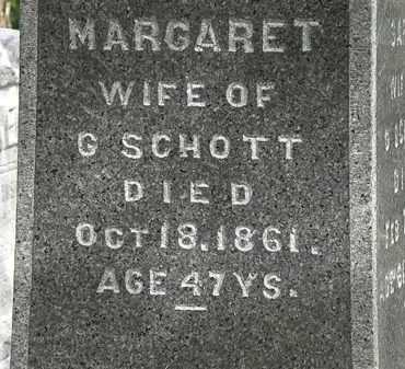 SCHOTT, MARGARET - Lorain County, Ohio   MARGARET SCHOTT - Ohio Gravestone Photos