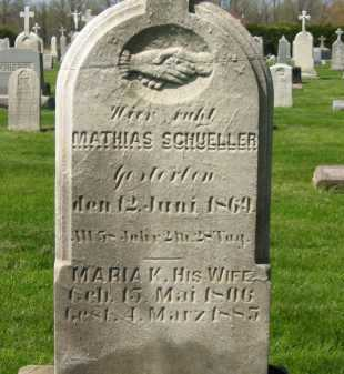 SCHUELLER, MATHIAS - Lorain County, Ohio | MATHIAS SCHUELLER - Ohio Gravestone Photos