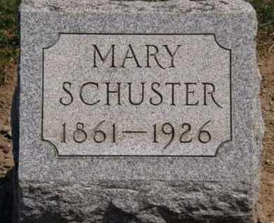 SCHUSTER, MARY - Lorain County, Ohio   MARY SCHUSTER - Ohio Gravestone Photos
