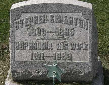 SCRANTON, STEPHEN - Lorain County, Ohio | STEPHEN SCRANTON - Ohio Gravestone Photos