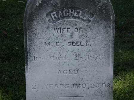 SEELY, RACHEL - Lorain County, Ohio | RACHEL SEELY - Ohio Gravestone Photos