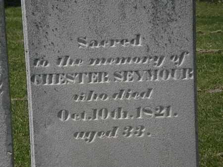 SEYMOUR, CHESTER - Lorain County, Ohio | CHESTER SEYMOUR - Ohio Gravestone Photos
