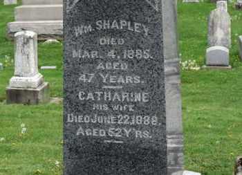 SHAPLEY, WM. - Lorain County, Ohio | WM. SHAPLEY - Ohio Gravestone Photos