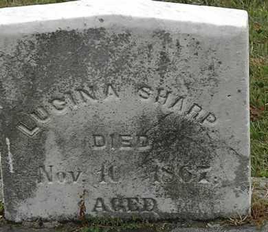 SHARP, LUCINDA - Lorain County, Ohio   LUCINDA SHARP - Ohio Gravestone Photos