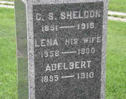 SHELDON, ADELBERT - Lorain County, Ohio | ADELBERT SHELDON - Ohio Gravestone Photos