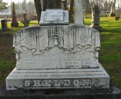 SHELDON, CORNELLA - Lorain County, Ohio | CORNELLA SHELDON - Ohio Gravestone Photos