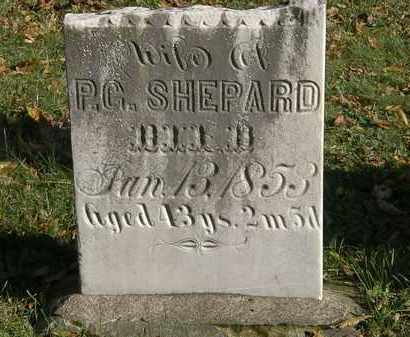 SHEPARD, ? - Lorain County, Ohio   ? SHEPARD - Ohio Gravestone Photos
