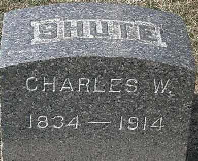 SHUTE, CHARLES W. - Lorain County, Ohio | CHARLES W. SHUTE - Ohio Gravestone Photos