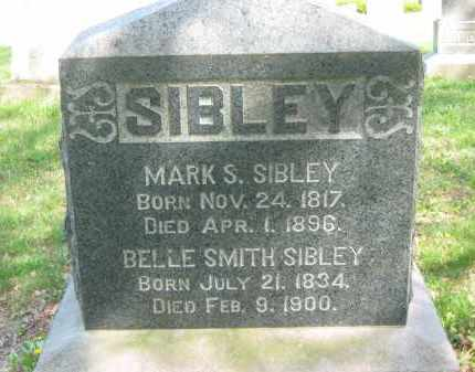 SMITH SIBLEY, BELLE - Lorain County, Ohio | BELLE SMITH SIBLEY - Ohio Gravestone Photos