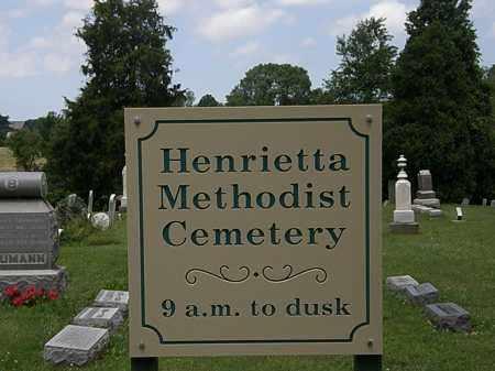 SIGN, CEMETERY - Lorain County, Ohio   CEMETERY SIGN - Ohio Gravestone Photos