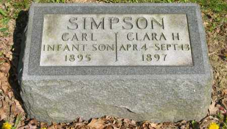 SIMPSON, CART - Lorain County, Ohio | CART SIMPSON - Ohio Gravestone Photos