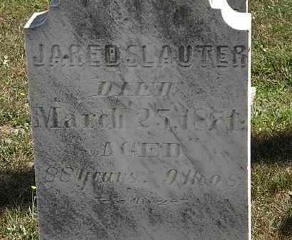 SLAUTER, JARED - Lorain County, Ohio   JARED SLAUTER - Ohio Gravestone Photos