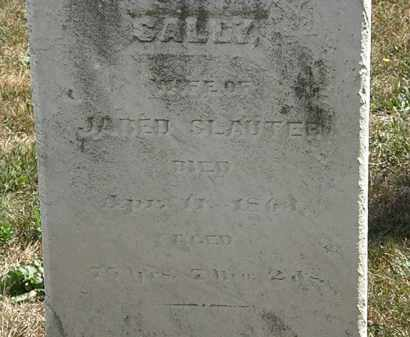 SLAUTER, SALLY - Lorain County, Ohio | SALLY SLAUTER - Ohio Gravestone Photos