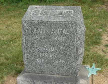 SMEAD, JULIUS C. - Lorain County, Ohio | JULIUS C. SMEAD - Ohio Gravestone Photos