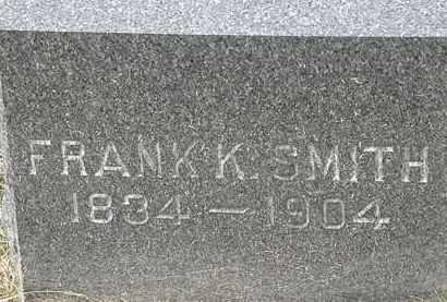 SMITH, FRANK K. - Lorain County, Ohio   FRANK K. SMITH - Ohio Gravestone Photos