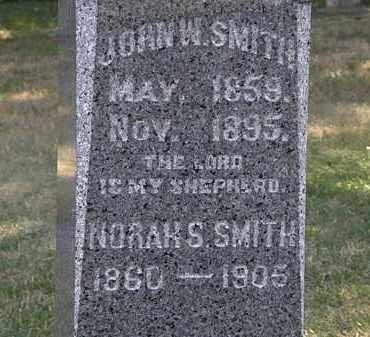 SMITH, JOHN W. - Lorain County, Ohio | JOHN W. SMITH - Ohio Gravestone Photos