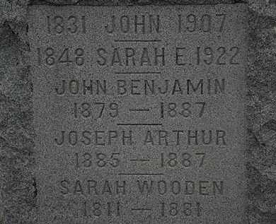 SMITH, SARAH E. - Lorain County, Ohio | SARAH E. SMITH - Ohio Gravestone Photos