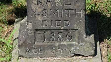 SMITH, KARL N. - Lorain County, Ohio | KARL N. SMITH - Ohio Gravestone Photos