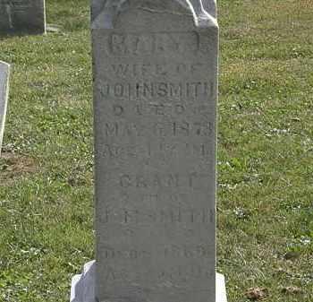 SMITH, MARY - Lorain County, Ohio | MARY SMITH - Ohio Gravestone Photos