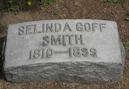 GOFF SMITH, SELINDA - Lorain County, Ohio | SELINDA GOFF SMITH - Ohio Gravestone Photos