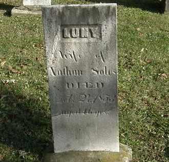 SOLES, LUNY - Lorain County, Ohio   LUNY SOLES - Ohio Gravestone Photos